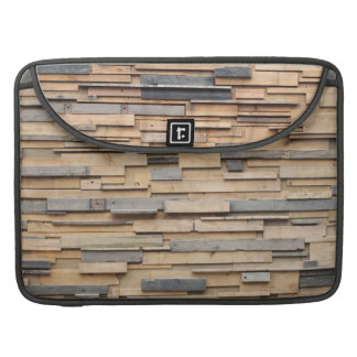 Reclaimed Wood, Sustainable Material Sleeve For MacBooks