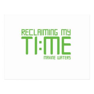 RECLAIMING MY TI:ME (Green) Postcard