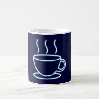 Reclamo de neón neon sign Kaffeetasse coffee cup Taza