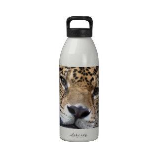 Reclinación de Jaguar Botellas De Agua Reutilizables
