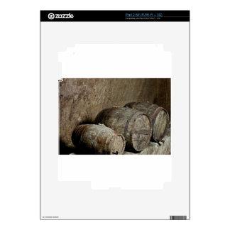 Reclinación de los barriles iPad 2 skin