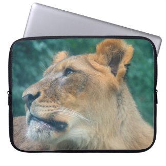 Reclinación del león manga computadora