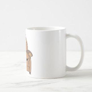 Recliner Cartoon Coffee Mug