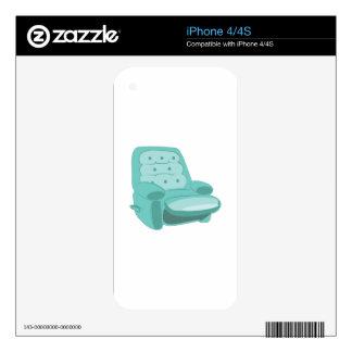 Recliner iPhone 4 Skins