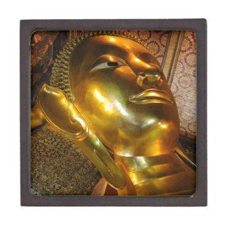 Reclining Buddha Wat Po Bangkok Thailand Premium Keepsake Boxes