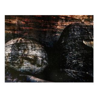 Reclining Buddha with Monkey Postcard