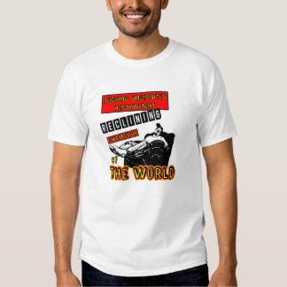 Reclining Champion of the World T-Shirt