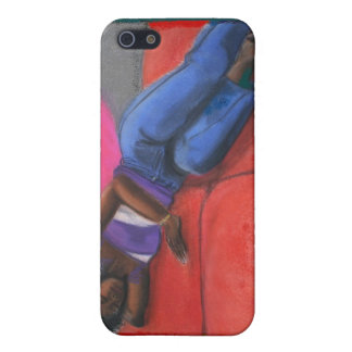 Reclining iPhone 5 Cover