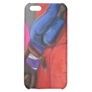 Reclining iPhone 5C Covers
