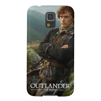 Reclining Jamie Fraser photograph Case For Galaxy S5
