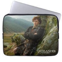 Reclining Jamie Fraser photograph Computer Sleeves