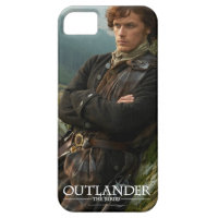 Reclining Jamie Fraser photograph iPhone 5 Covers