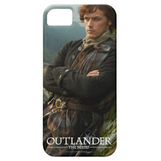 Reclining Jamie Fraser photograph iPhone SE/5/5s Case