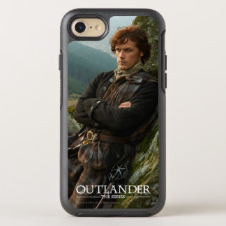 Reclining Jamie Fraser photograph OtterBox Symmetry iPhone 7 Case