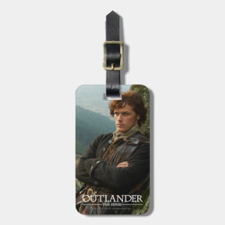 Reclining Jamie Fraser photograph Travel Bag Tags