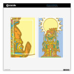 Reclining Mayan Kindle Fire Decal