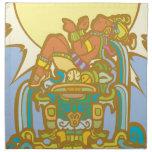 Reclining Mayan Lorf Cloth Napkin