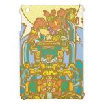 Reclining Mayan Lorf iPad Mini Covers