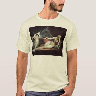 Reclining Nude And The Piano Teacher By Füssli Joh T-Shirt