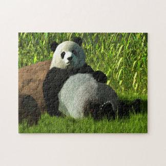 Reclining Panda Jigsaw Puzzle