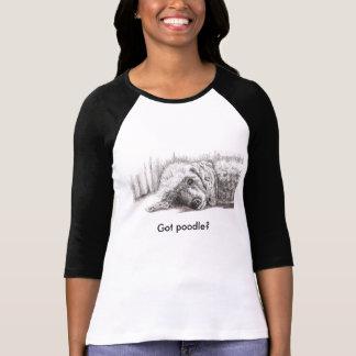 Reclining Poodle, Got poodle? T-Shirt