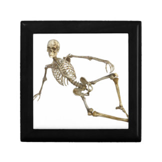 Reclining Skeleton Gift Box