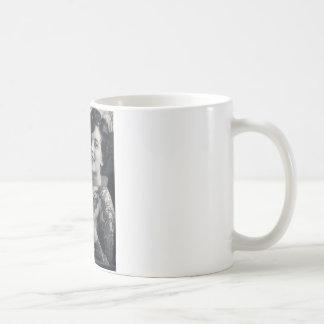 Reclining Tattooed Lady Coffee Mug