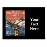Reclutamiento del anuncio de WWI Tarjetas Postales