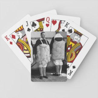 Reclutas con su imagen tied_War de los colchones Barajas De Cartas