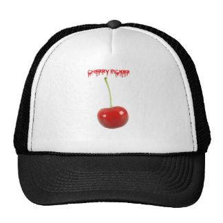 Recogedor de la cereza gorras