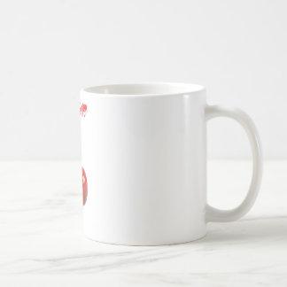 Recogedor de la cereza taza de café