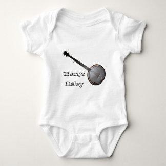 Recogedor del banjo mameluco de bebé