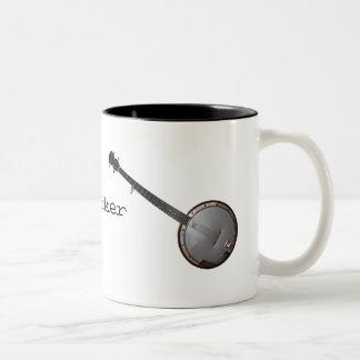 Recogedor del banjo taza de café
