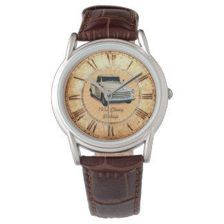Recogida 1952 de Chevy Reloj