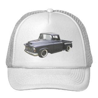 Recogida 1956 de Chevrolet del negro Gorros