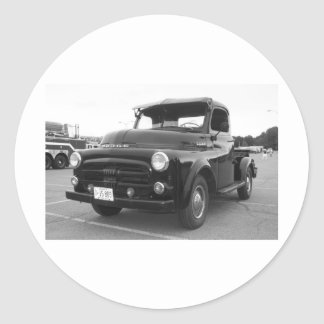 Recogida de 1952 Dodge Pegatina Redonda