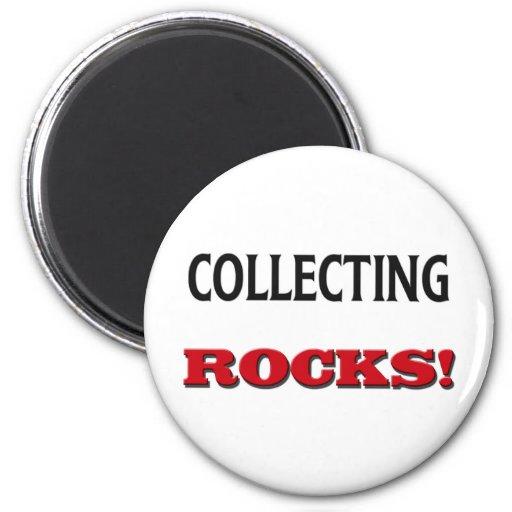 Recogida de rocas imán redondo 5 cm