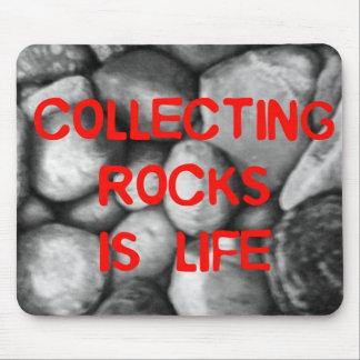Recogida de rocas alfombrilla de raton
