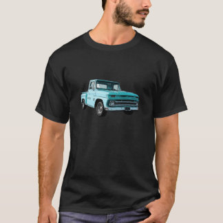 Recogida del azul '64 Chevy Stepside Playera
