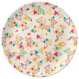 Recogida magnífica cuidadosa prominente platos de cerámica