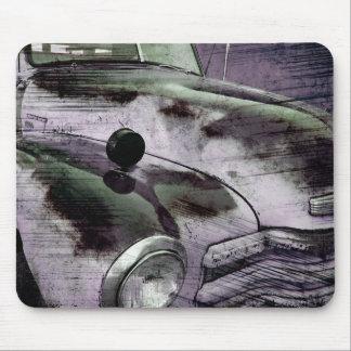 Recogida Mousepad de Chevy del vintage del Grunge Tapete De Ratón