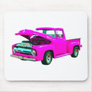 recogida rosada tapete de ratón