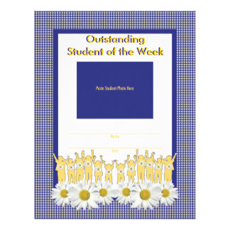 Recognition Activity Page for Binder Letterhead