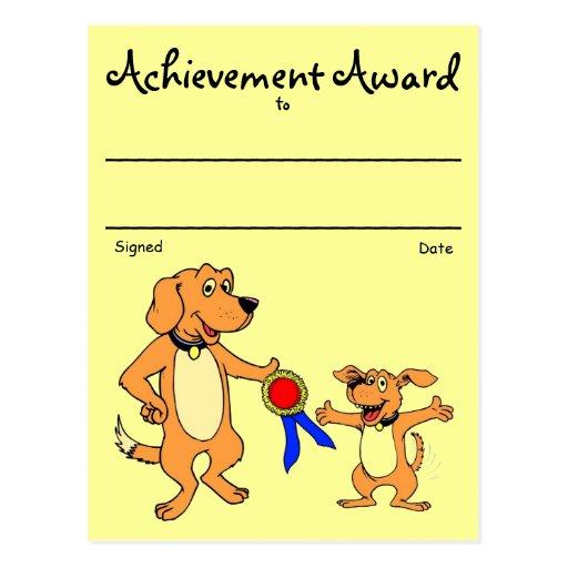 Recognition Award Postcard