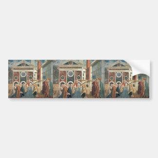 Recognition of the True Cross by Piero Francesca Bumper Sticker