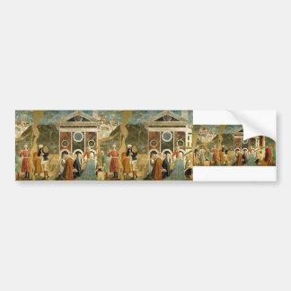 Recognition of True Cross by Piero Francesca Bumper Stickers