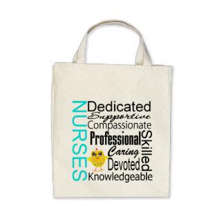 Recognize a Nurse:  Nurses Recognition Collage Canvas Bag