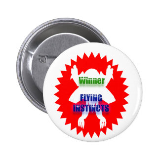 Recognize Excellence : Winner Flying Instincts 2 Inch Round Button