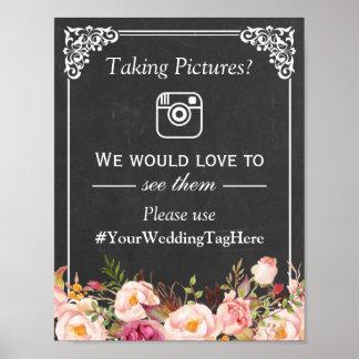 Recoja a sus huéspedes que casan la etiqueta de póster