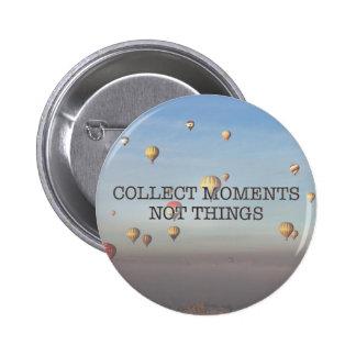 Recoja las cosas de los momentos no pin redondo de 2 pulgadas